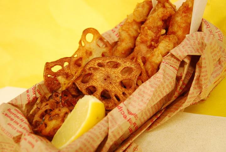 霞ヶ浦フィッシュ&チップス(FISH & CHIPS)