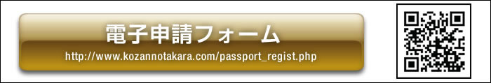 画像:パスポート 申請フォーム
